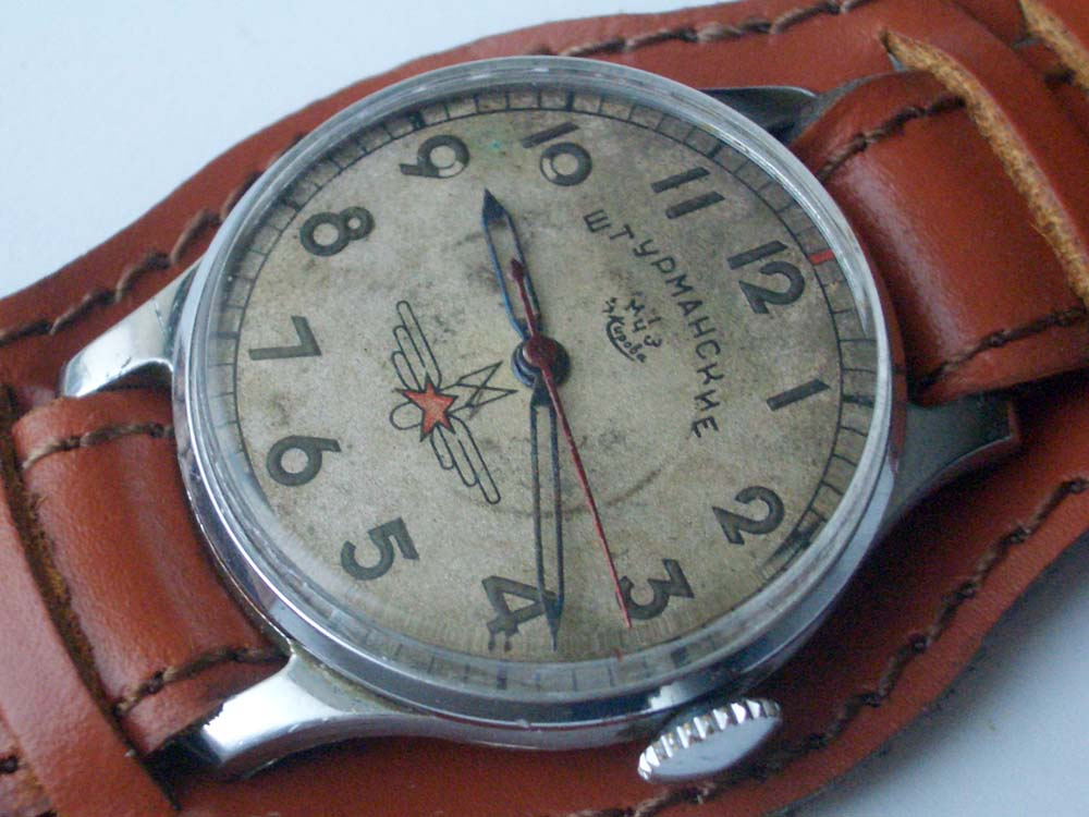Jurij gagarin shturmanskie ussr air force poljot 1mwf ebay for Foljot watches