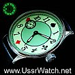 POKER Playing Card Hight Quality MENS WATCH Fluorescent DIAL Stainless steel case