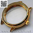 Big New Gold plated case Inner Diameter appr. 42,0 mm