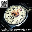 NOS Rare Zim POBEDA Stalin USSR Mechanical wristwatch TOP
