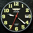 AVIATOR POLJOT Полет Stainless steel Wrist Watch in BOX with certificate