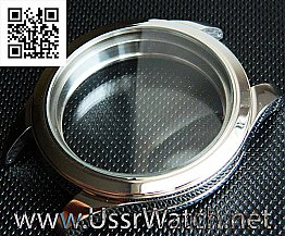 Big New Stainless Steel Case Inner Diameter appr. 36,0 mm (can be milled to 43,5 mm) Three parts case