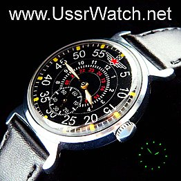 Red Army Russian AVIATOR KOMANDIR MILITARY Zim POBEDA USSR Mechanical Watch