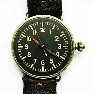 Authentic Prototyp Germany Luftwaffe Flieger Beobachtungs Uhr RLM WEMPE 1930 100% original